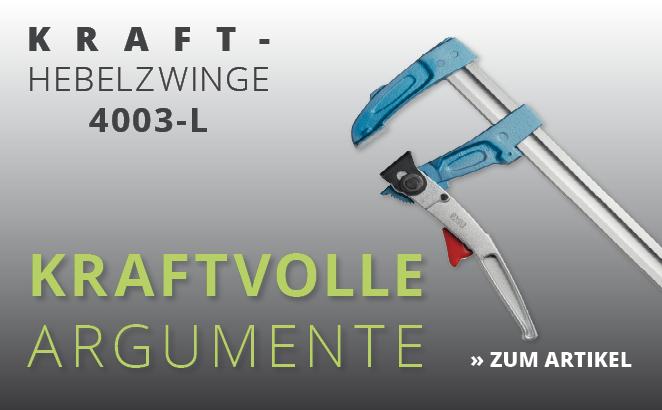Kraft-Hebelzwinge 4003-L
